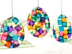 Suncatcher Easter Eggs Craft