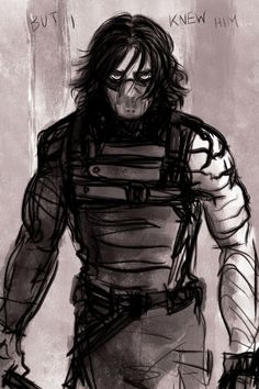 But I knew him Winter Soldier fanart by stonelions