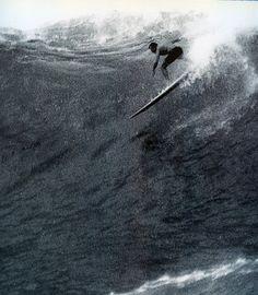 Big-wave pioneer Fred Van Dyke passes away at 86. 1929 - 2015. Photo: Severson