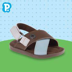 Dias mais 'relax' pedem uma sandália fresca e confortável, né? Para os nossos pequenos, uma Franciscana é ideal para deixá-los brincarem à vontade e arrumadinhos. <3 Modelos disponíveis do 16 ao 25. Fresca, Sandals, Boys, Fashion, Ear Rings, Shoes, Templates, Over Knee Socks, Baby Boys