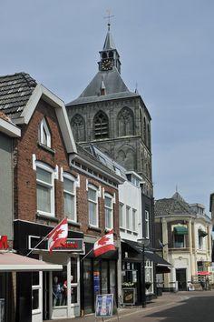 Plechelmus Basiliek vanuit de Deurningerstraat
