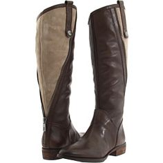 Sam Edelman - Patrice two tone knee high boots... want