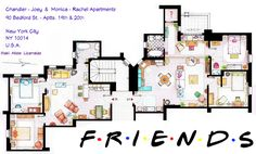 friends apartments <3