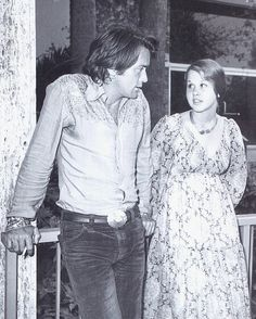 "Martin Sheen and Linda Blair in ""Sweet Hostage."" It was the first movie I had seen him in and I love him still."