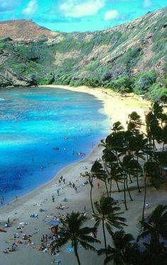 Haunama Bay, Oahu Hawaii