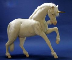 These Hansa unicorn stuffed animals are so lifelike you'll think unicorns are real. They are handmade by artists down to the very finest details. Giant Stuffed Animals, Unicorn Stuffed Animal, Unicorn Princess, Baby Princess, Carnival Party Decorations, Princess Room Decor, Unicorn Wings, Party Props, Plush