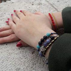Hét csomós kabbala karkötő  Zsinór ásvány karkötők Bracelets, Instagram, Jewelry, Fashion, Moda, Jewlery, Bijoux, Fashion Styles, Schmuck