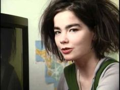 """Bjork - 1988 interview on the inner workings of a TV, """"you shouldn't let poets lie to you"""" (??!) hee, hee...LOVE this"""