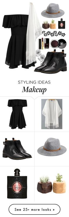 """Wouldn't you love to love her?"" by t-hems13 on Polyvore featuring WallPops, Michael Stars and Yves Saint Laurent"