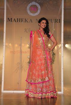 Indian Bridal Wear by Maheka Mirpuri