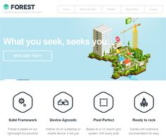 This flat WordPress theme comes with a widgetized homepage, 6 custom page templates, built-in SEO settings, full localisation support, custom widgets, easy colour customisation via a colour picker, a responsive layout, and more.