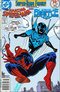 Super-Team Family: The Lost Issues!: Spider-Man and The Blue Beetle (Jaime Reyes)
