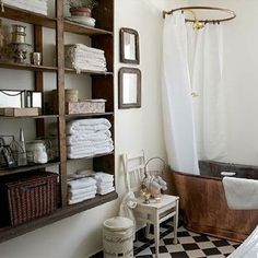 pottery barn style bathrooms