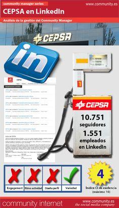 En Community Internet hemos analizado, durante una semana, la gestión del servicio de Community Manager en LinkedIn del grupo energético CEPSA. He aquí nuestras conclusiones: