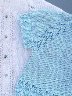 Knitting For Kids, Baby Knitting Patterns, Free Knitting, Knitted Baby Clothes, Knitted Hats, Crochet Baby, Knit Crochet, Baby Cardigan, Baby Sweaters
