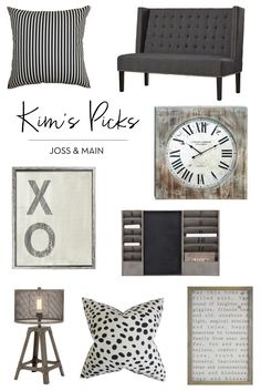A Few of My Favorite Pieces from Joss & Main | The TomKat Studio