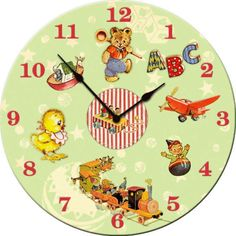 Vintage Wall Clock I would love this clock for my classroom. Classic Nostalgia for sure!