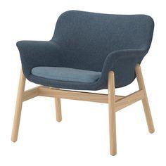 VEDBO Armchair - Gunnared blue - IKEA