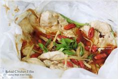 Cuisine Paradise | Singapore Food Blog | Recipes, Reviews And Travel: Huiji Baked Chicken Fillet