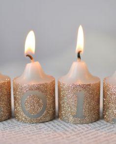hermosas velas decoradas con sencillos pasos
