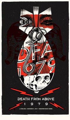 Death From Above 1979 by Andrew Vastagh