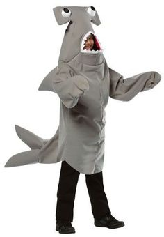 Hammerhead Shark Kids Costume