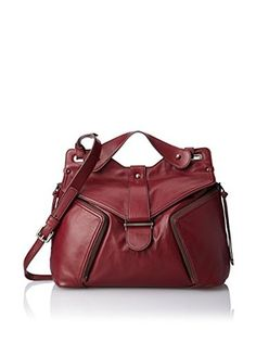 Kooba Handbags Women's Cole Cross-Body Bag, Bordeaux