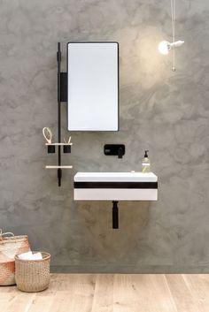 LINK Waschbecken by EVER by Thermomat Saniline Design Diego Cisi