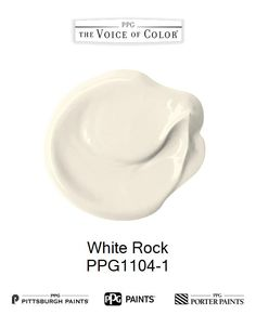 White Rock is a part of the Off-Whites collection by PPG Voice of Color®. Browse this paint color and more collections for more paint color inspiration. Get this paint color tinted in PPG PITTSBURGH PAINTS®, PPG PORTER PAINTS® & or PPG PAINTS™ products.