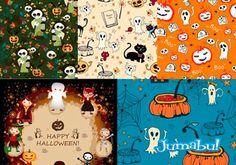 Halloween Vectores para Noche de Brujas! | Jumabu! Design Tools - Vectorizados - Iconos - Vectores - Texturas