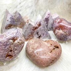 Photo by Glace Crystals on January 13, 2021. Pink Amethyst, Amethyst Crystal, January 13, Chocolate, Crystals, Desserts, Food, Tailgate Desserts, Deserts
