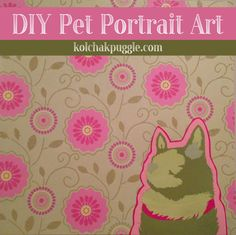 Make an easy and stylish layered paper pet portrait with this dog lover DIY tutorial.