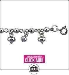 Revoni - Tobillera de plata de ley  ✿ Joyas para niñas - Regalos ✿ ▬► Ver oferta: https://comprar.io/goto/B0050BQPJO