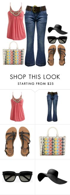 """""""Summer Outfit #4"""" by sunshine24-7-1 ❤ liked on Polyvore featuring Wet Seal, Jane Norman, Billabong, Tory Burch and Yves Saint Laurent"""
