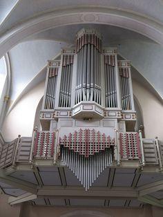 St. Michael Orgel - Sint-Michaëlkerk (Aken-Burtscheid) -  Orgelbau Weimbs