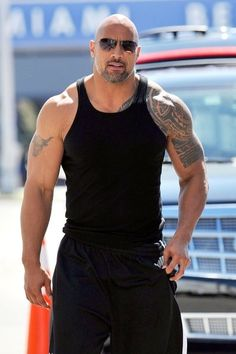 Dwayne Johnson...AKA: MR. HOT COCOA!  ;-) (I think my mom & I love this guy too much...) XD