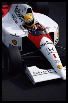 Senna has often been voted as one of the greatest Formula One drivers of all time in various motorsport polls.[2][3][4][5][6] He was recognised for his qualifying speed over one lap and from 1989 until 2006 held the record for most pole positions. He was also acclaimed for his wet weather performances