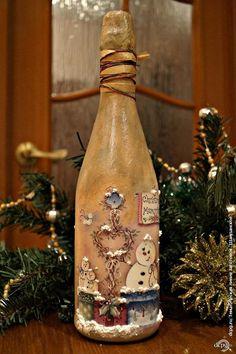 "Decoupage - entusiastas decoupage Sitio - DCPG.RU | Champagne, №10: «chapuza nieve"""