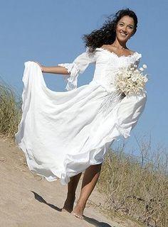 Vestidos de novia para ceremonias en la playa