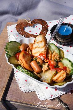 Who let the dogs out? Ein Hot Dog Salat von KochzereMoni