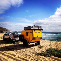 Off road trailer Chile carro casa rodante
