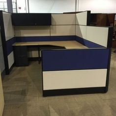Cluster Workstation Layout Office Furniture Malaysia