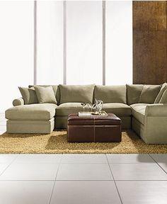 doss fabric microfiber sectional sofa 4 piece left arm facing chaise armless loveseat corner unit and right arm facing loveseat x x sectional sofas