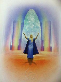 Image result for Crystal Healing fantasy art