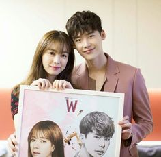 "Lee jong suk ""W Two worlds"" Drama Korean Drama Stars, Korean Drama Best, Korean Couple, Best Couple, W Kdrama, Lee Jong Suk Wallpaper, Kang Chul, Lee Jung Suk, Lee Jong Suk And Han Hyo Joo"