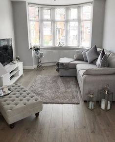 Is Solid Wood Flooring out of your budget Why not try Laminate This Cottage Soft Pebble Oak Laminate looks incredible in this living room area Order Free Samples Today FlooringSuperstore Flooring FlooringTrends WoodFlooring Laminate LaminateFlooring Living Room Ideas Uk, Living Room Decor Cozy, Living Room Grey, Living Room Inspiration, Home Living Room, Apartment Living, Living Room Designs, Budget Living Rooms, Front Room Decor