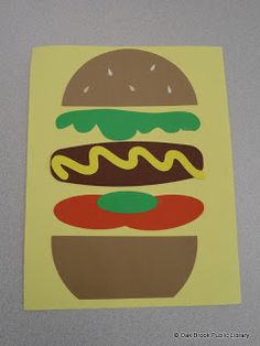 I want to laminate pieces of a sandwich and have my kids make their own :)