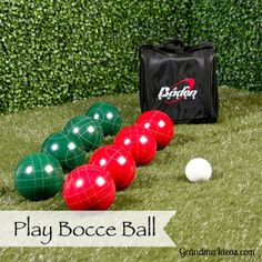 Bocce ball is a GREAT  family game that tween and teenage kids will enjoy playing.