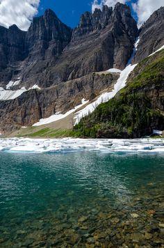 Iceberg Lake, Glacier National Park, Montana - USA