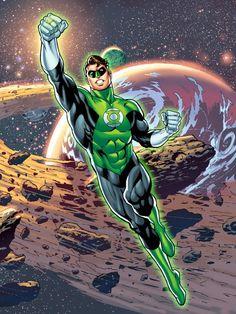 Green Lantern Hal Jordan by Jose Luis Garcia-Lopez Green Lantern Hal Jordan, Green Lantern Corps, Green Lanterns, Dc Comics Characters, Dc Comics Art, Comic Books Art, Comic Art, Book Art, Green Lantern Sinestro